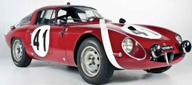 Alfa Romeo Giulia Coupè TZ
