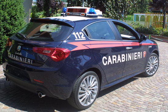AlfaRomeo Giulietta Carabinieri - www.mitoalfaromeo.com -