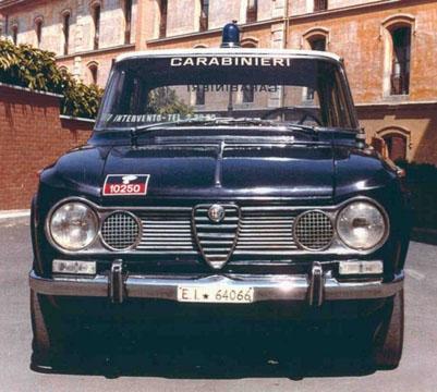 AlfaRomeo Giulia Super Carabinieri - www.mitoalfaromeo.com -