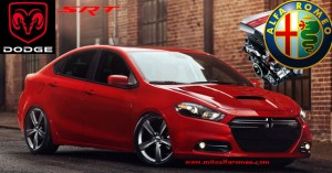 Dodge Dart SRT4 with engine Alfa Romeo - www.mitoalfaromeo.com