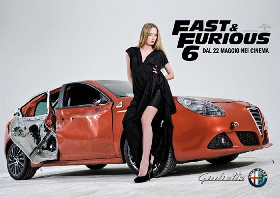 AlfaRomeo Giulietta è la nuova star di 'Fast&Furious 6' - www.mitoalfaromeo.com -