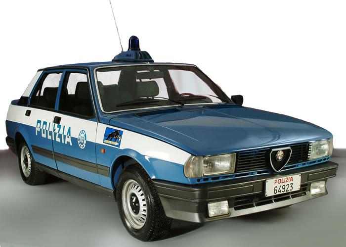 Alfa Giulietta 1.8 Polizia di Stato Italiana - www.mitoalfaromeo.com -