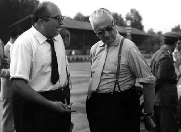 Carlo Chiti con Enzo Ferrari - www.mitoalfaromeo.com -
