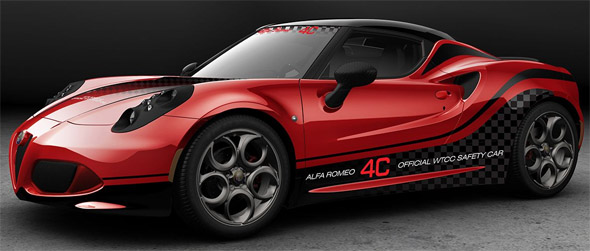 Alfa Romeo 4c Safety Car WTCC 2014 - www.mitoalfaromeo.com -
