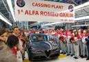Uscita dallo stabilimento laziale di Cassino la prima Alfa GIULIA, ecco i primi rumors