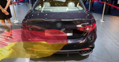 Mercato auto in Germania a novembre 2016 segna +1,5%, Alfa Romeo vola a + 79,9%