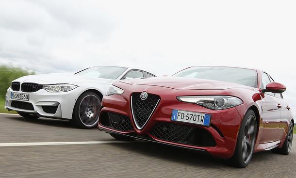Motor Trend testa Alfa Giulia Qudrifoglio negli USA:  battuta la Bmw M3 Competition Package