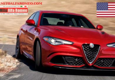 Mercato auto USA a novembre 2017 segna + 1,3 %. Alfa Romeo con Giulia e Stelvio vola nelle vendite a + 6.161%