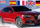 Alfa Romeo in crescita ad ottobre 2017 in Francia, Spagna e Gran Bretagna. Segno negativo in Germania. Vendite trainate dal suv Stelvio