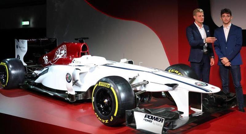 Leclerc e Ericsson sono i piloti del team Alfa Romeo Sauber F1 2018