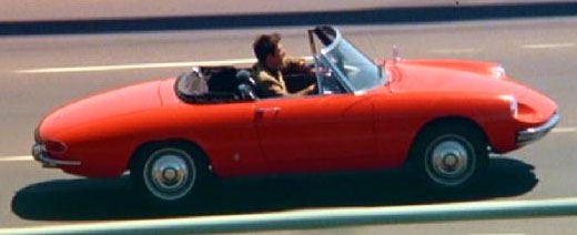 AlfaRomeo Spider - The Graduate with Dustin Hoffman - www.mitoalfaromeo.it