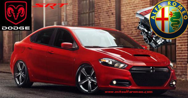 Dodge Dart SRT4 with engine Alfa Romeo - www.mitoalfaromeo.com