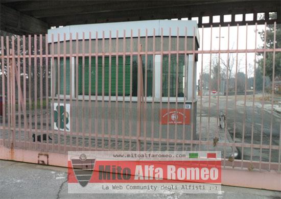 Ingresso Museo Storico Alfa Romeo - 02/2012 - www.mitoalfaromeo.com -