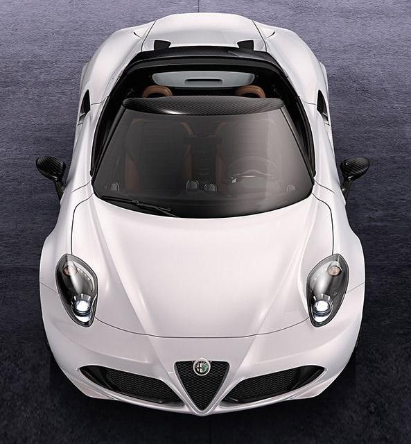 Alfa Romeo 4C Spider 2014 - www.mitoalfaromeo.com -