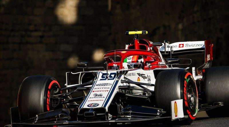 Aspettando il Gran Premio dell' Azerbaigian del 28 aprile 2019, Alfa Romeo presente nella top ten sulla griglia di partenza