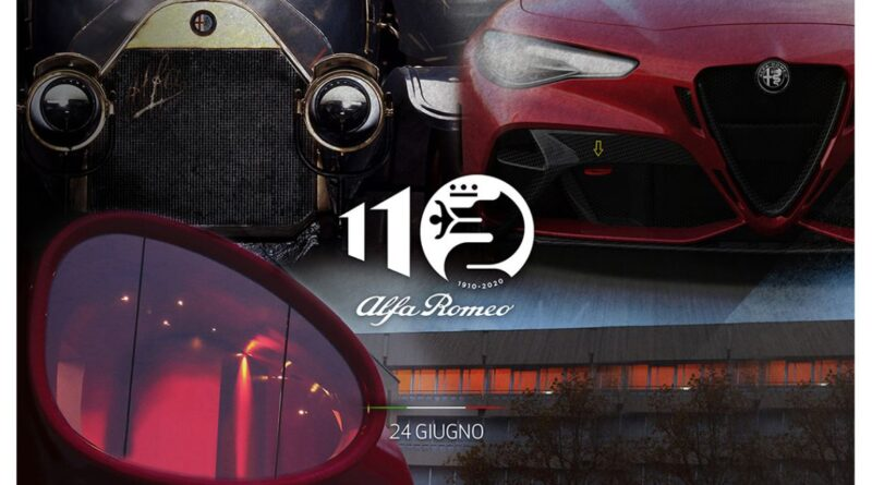 24 giugno 2020: appuntamento con la storia con i 110 anni di Alfa Romeo