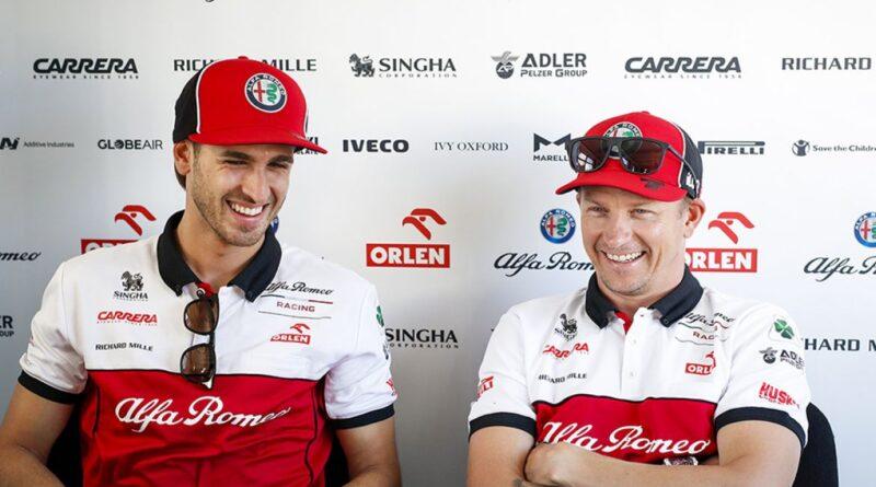I piloti Kimi Räikkönen e Antonio Giovinazzi confermati su pista con Alfa Romeo Racing ORLEN anche nel 2021