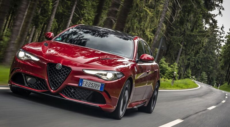 Alfa Romeo Giulia Quadrifoglio eletta Auto sportiva dell'anno