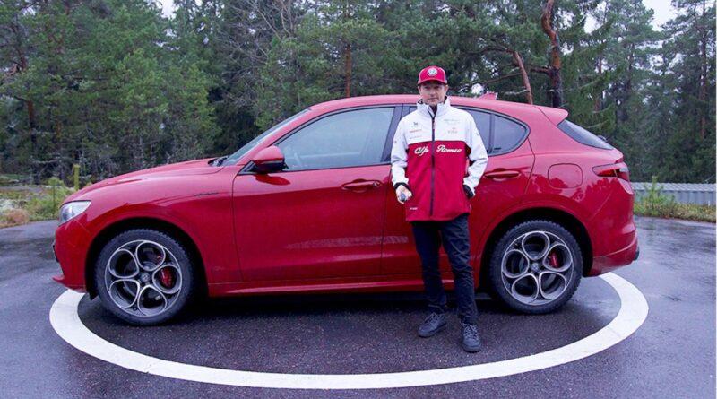 Kimi Räikkönen sceglie Alfa Romeo Stelvio per la sua vita lontano dai circuiti