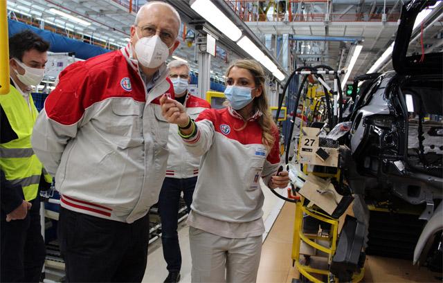 Full immersion negli stabilimenti ex FCA di Cassino e Pomigliano per il CEO Alfa Romeo Jean-Philippe Imparato: nessuna novità di rilievo ad ora sui modelli che verranno