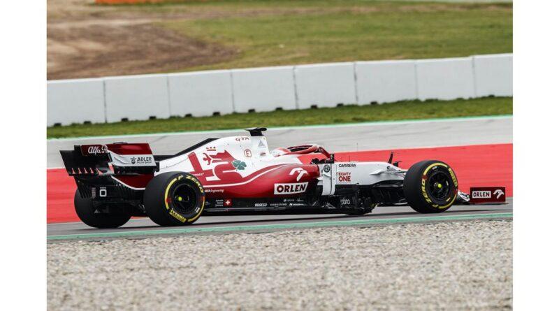 L' Alfa Romeo Racing ORLEN C41 ha effettuato il suo debutto a Barcellona
