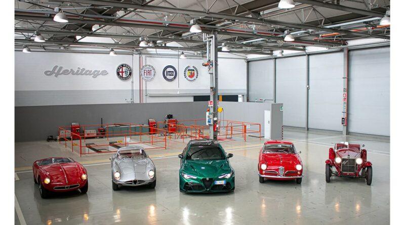 Alfa Romeo è la regina della 39esima edizione storica della 1000 Miglia con quattro gioielli: la 6C 1500 Super Sport del 1928, la 1900 Sport Spider del 1954, la 2000 Sportiva del 1954 e la 1900 Super Sprint del 1956